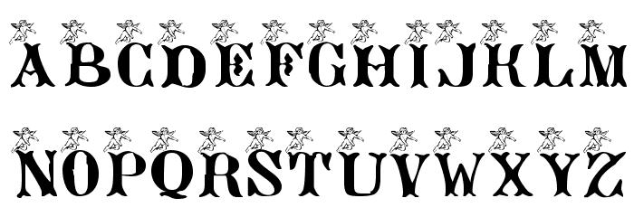 AngeGardien Font UPPERCASE
