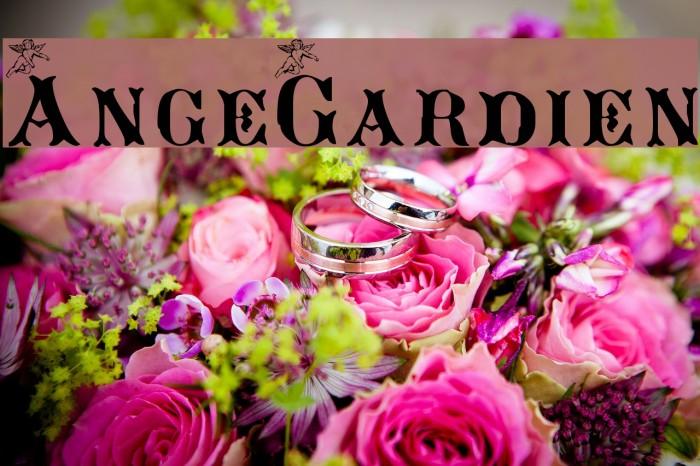 AngeGardien Font examples
