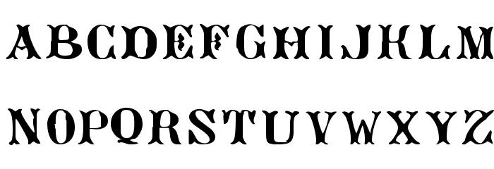 AngeGardien Font LOWERCASE