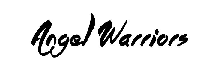 Angel Warriors  नि: शुल्क फ़ॉन्ट्स डाउनलोड