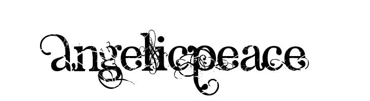 AngelicPeace  Fuentes Gratis Descargar