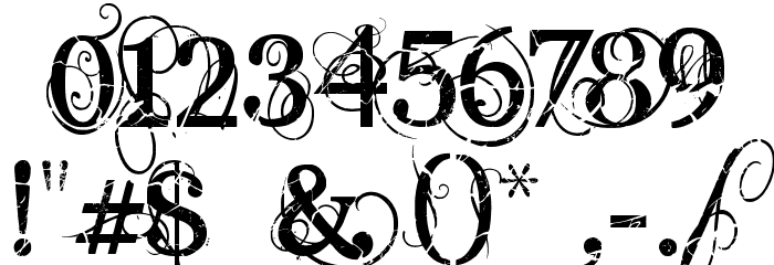 AngelicPeace Font OTHER CHARS