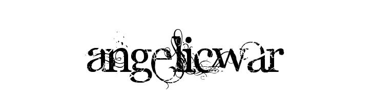 AngelicWar  Fuentes Gratis Descargar