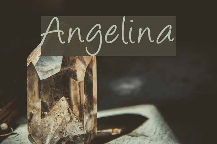 Angelina Fonte examples