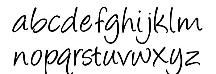 Angelina Font LOWERCASE