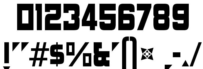 AngerpoiseLampshade-Regular Font Alte caractere