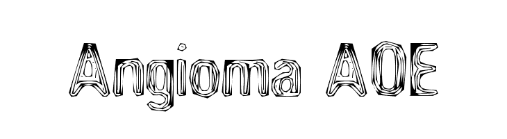 Angioma AOE  Free Fonts Download