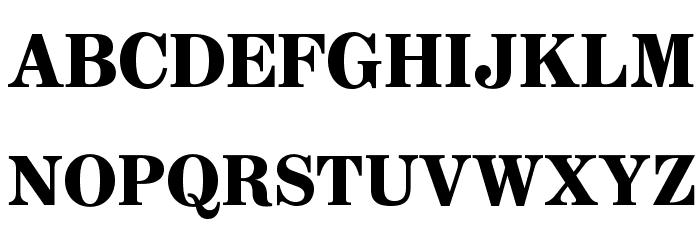 AnglicusOpti-Bold Font UPPERCASE