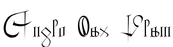 Anglo Sax Plain  Descarca Fonturi Gratis