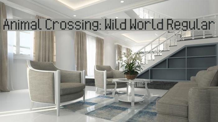 Animal Crossing: Wild World Regular Font examples