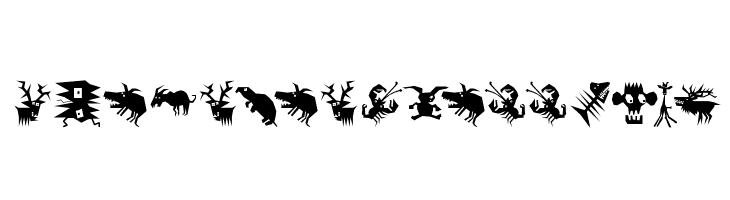 AnimaliaScissored  नि: शुल्क फ़ॉन्ट्स डाउनलोड