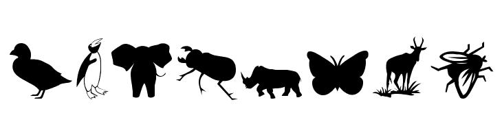 Animals 2  नि: शुल्क फ़ॉन्ट्स डाउनलोड