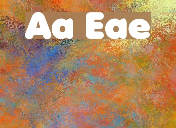 Anja Eliane फ़ॉन्ट examples