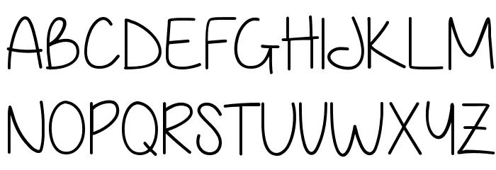 Anjelika Rose Thin Font UPPERCASE