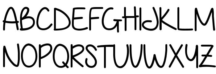 Anjelika Rose Font UPPERCASE