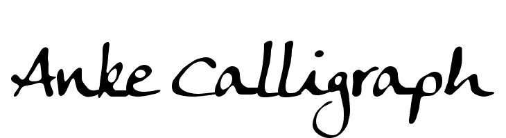 Anke Calligraph  Descarca Fonturi Gratis