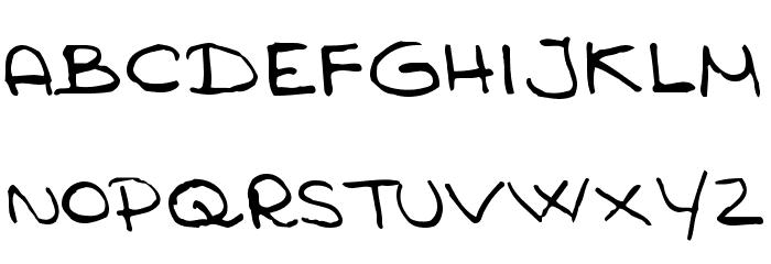 Anmari Font UPPERCASE