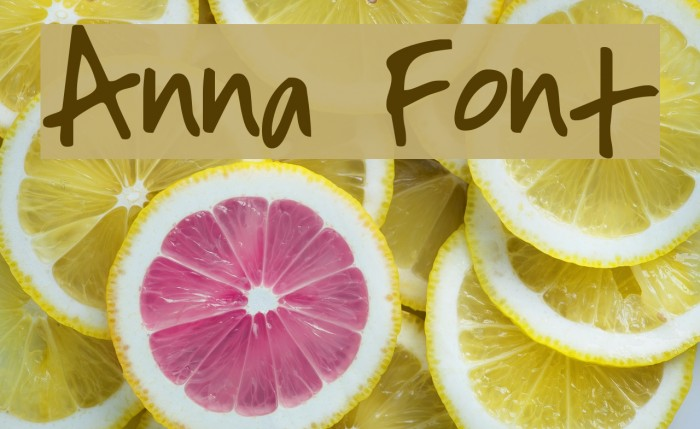 Anna Font examples