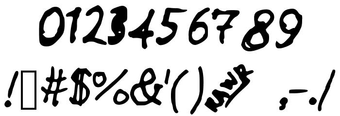 Anniemalistic Шрифта ДРУГИЕ символов