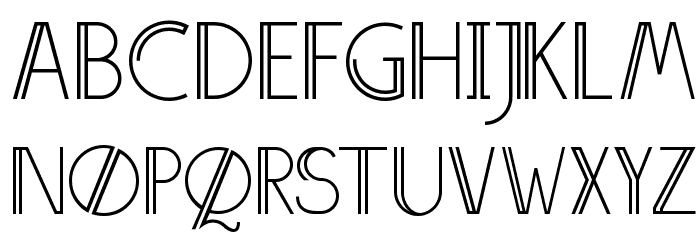 Annivers-Demo Font UPPERCASE