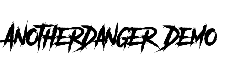 Another Danger - Demo  Free Fonts Download