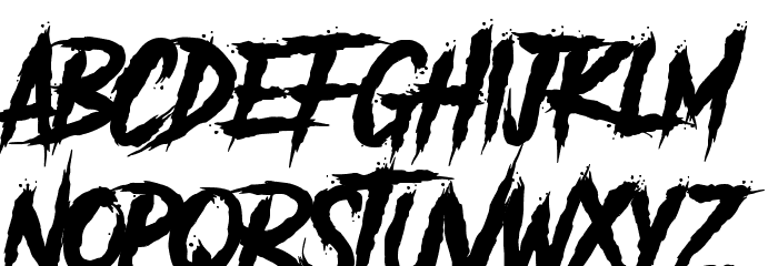 Another Danger - Demo Font Litere mici