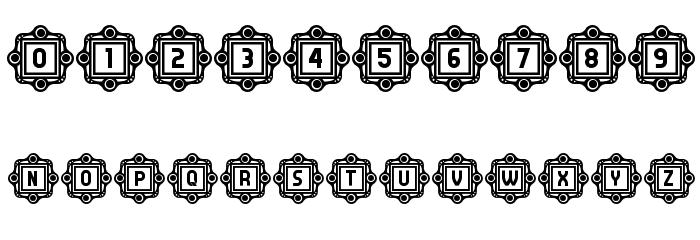 Answer Capitals Regular Font Alte caractere