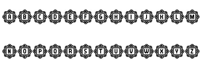Answer Capitals Regular Font Litere mari