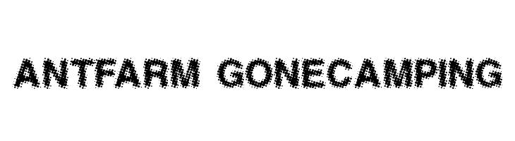 AntFarm GoneCamping  Скачать бесплатные шрифты