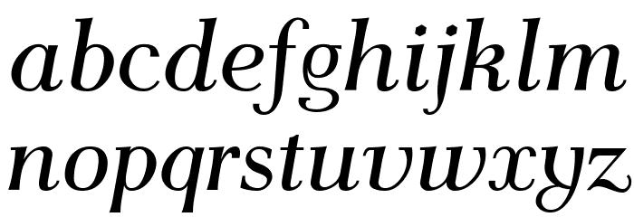 AntPolt-Italic Font LOWERCASE