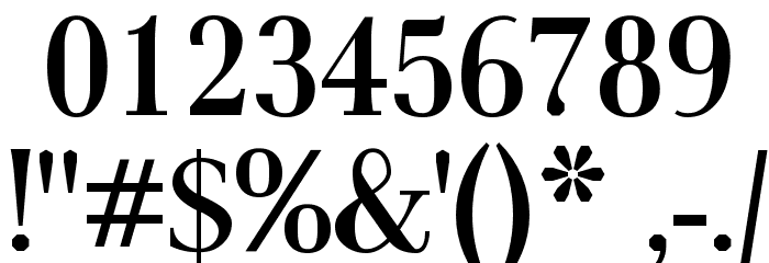 AntPoltCond-Bold Font OTHER CHARS