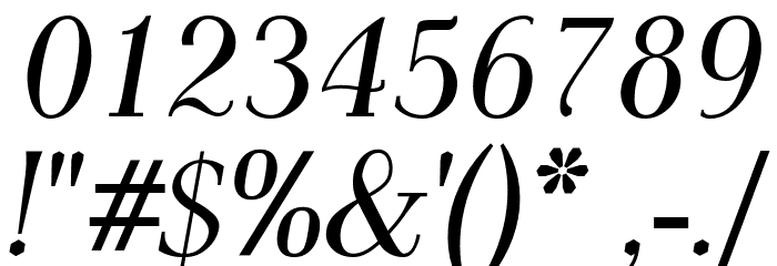 AntPoltCond-Italic Font OTHER CHARS