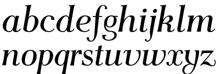 AntPoltCond-Italic Font LOWERCASE
