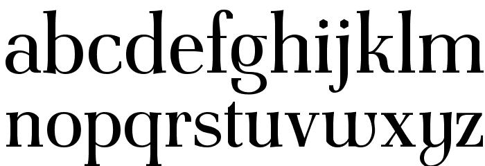 AntPoltCond-Regular Font LOWERCASE