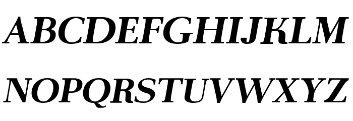 AntPoltExpd-BoldItalic Font UPPERCASE