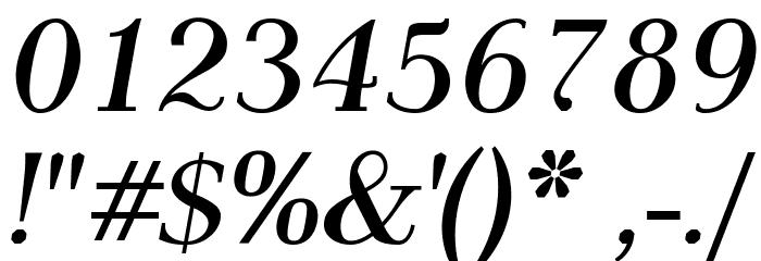 AntPoltLt-BoldItalic フォント その他の文字