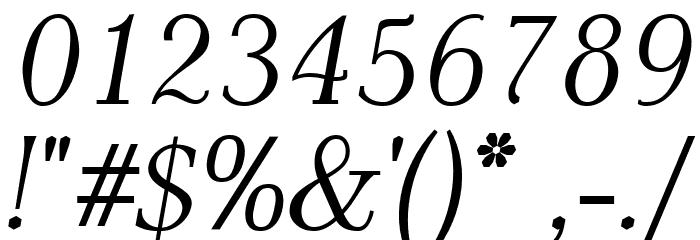 AntPoltLt-Italic Шрифта ДРУГИЕ символов