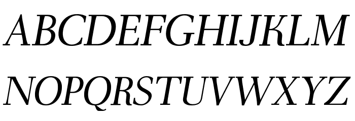 AntPoltLt-Italic Font UPPERCASE