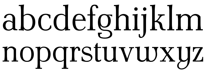 AntPoltLt-Regular Font LOWERCASE