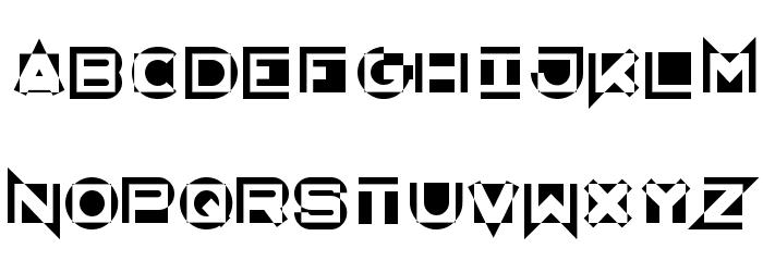 AntiMatter KG Шрифта строчной