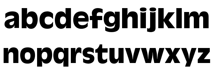 AntigoniBd   Bold Font LOWERCASE