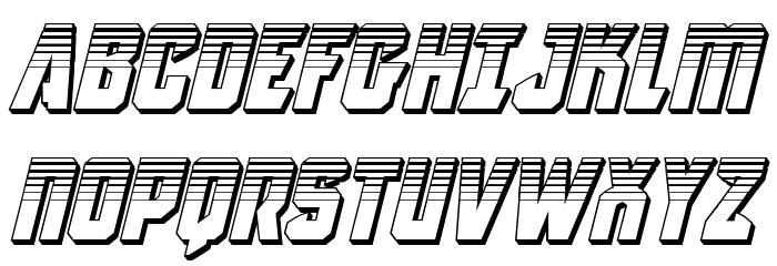 Antilles Platinum Italic フォント 大文字