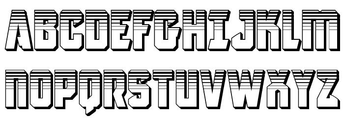 Antilles Platinum フォント 大文字