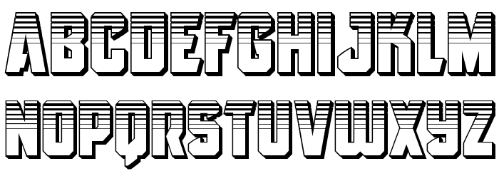 Antilles Platinum フォント 小文字
