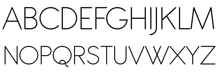 Antipasto Pro Extralight Schriftart Groß