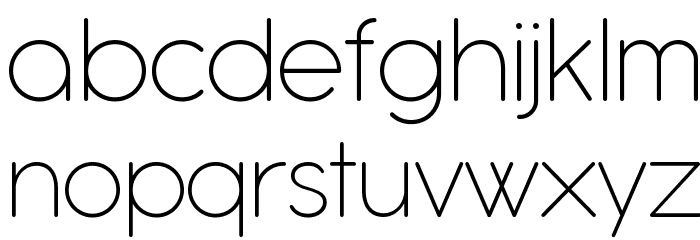 Antipasto Pro Extralight Schriftart Kleinbuchstaben