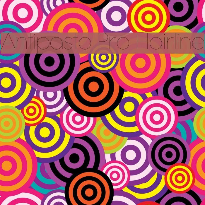 Antipasto Pro Hairline Schriftart examples