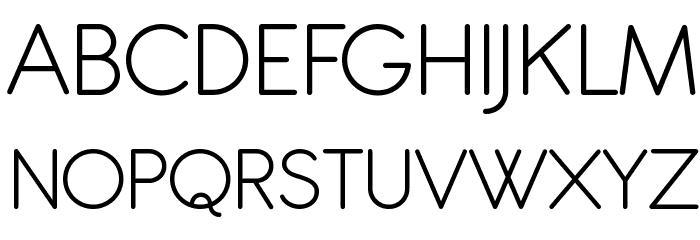 Antipasto Pro Light Schriftart Groß