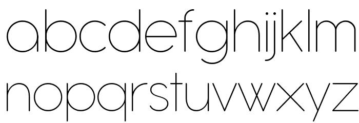 Antipasto Pro Thin Schriftart Kleinbuchstaben