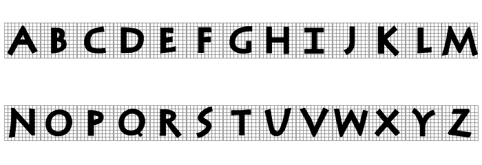 AntiquaInGrid Font LOWERCASE